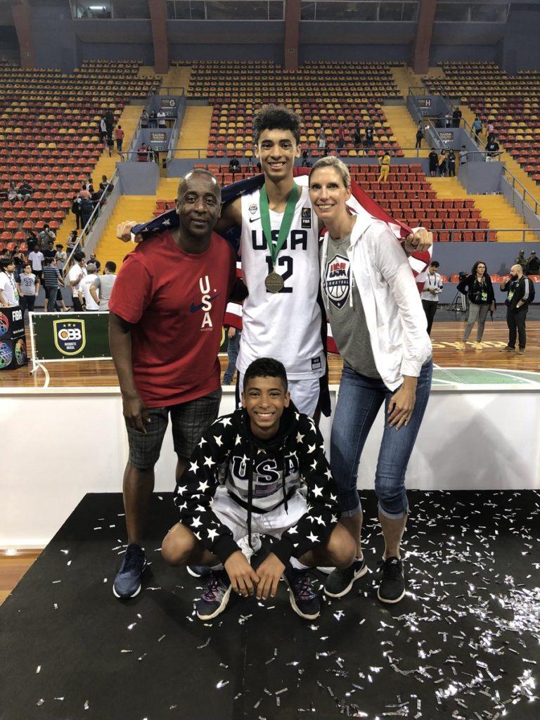 USA Men Best Canada 94-77 to Claim FIBA Americas U16 Gold Medal-Illinois Wolves 2021 Max Christie